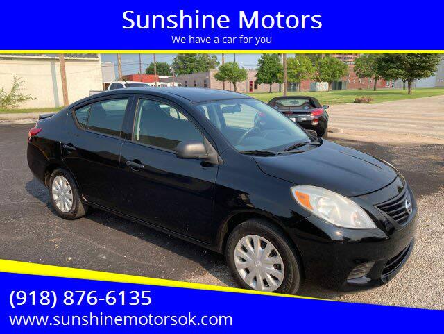 2014 Nissan Versa for sale at Sunshine Motors in Bartlesville OK