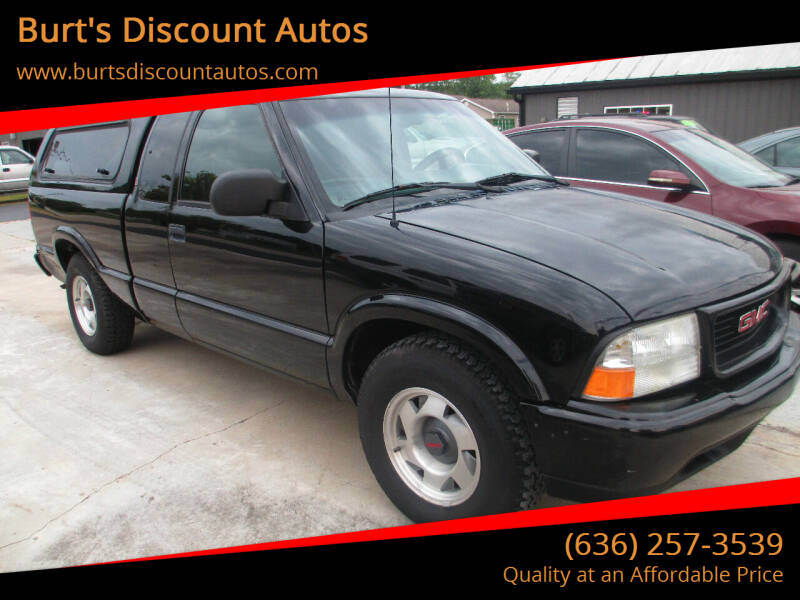 2000 GMC Sonoma for sale at Burt's Discount Autos in Pacific MO