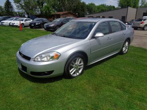 2012 Chevrolet Impala for sale at COUNTRYSIDE AUTO INC in Austin MN