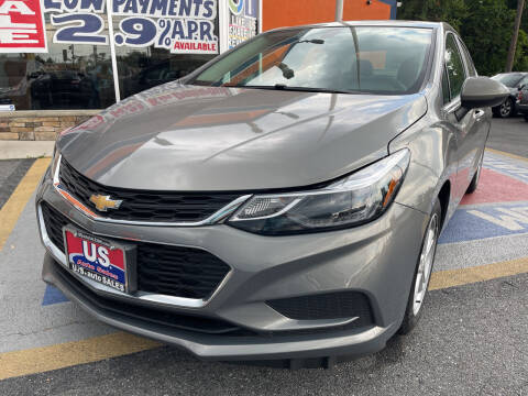 2017 Chevrolet Cruze for sale at US AUTO SALES in Baltimore MD