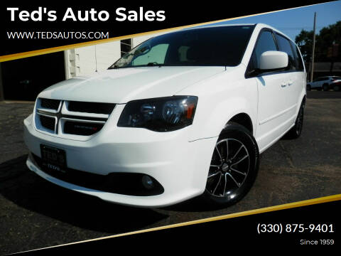 2016 Dodge Grand Caravan for sale at Ted's Auto Sales in Louisville OH