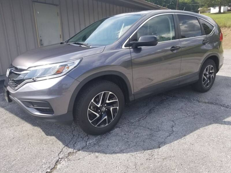 2016 Honda CR-V for sale at Ulsh Auto Sales Inc. in Summit Station PA