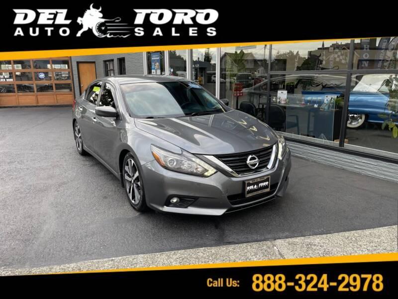2016 Nissan Altima for sale at DEL TORO AUTO SALES in Auburn WA