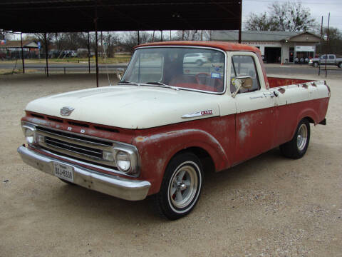 1962 Ford F-100 for sale at Texas Truck Deals in Corsicana TX