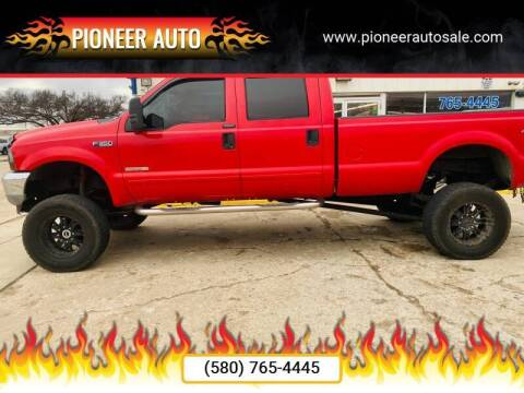 2004 Ford F-350 Super Duty for sale at Pioneer Auto in Ponca City OK
