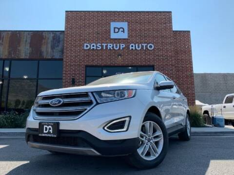 2016 Ford Edge for sale at Dastrup Auto in Lindon UT