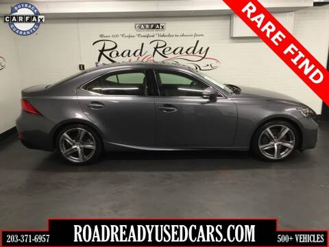 2017 Lexus IS 200t for sale at Road Ready Used Cars in Ansonia CT