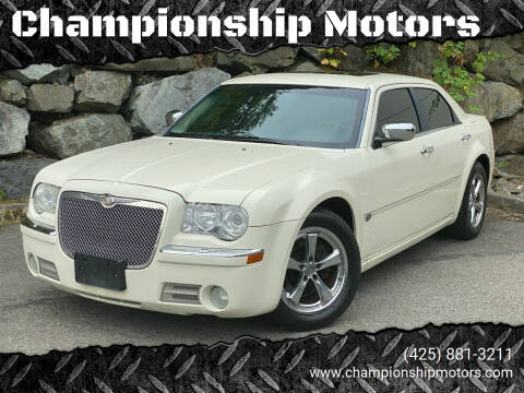 2006 Chrysler 300 for sale at Championship Motors in Redmond WA