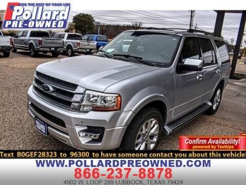 2016 Ford Expedition for sale at South Plains Autoplex by RANDY BUCHANAN in Lubbock TX