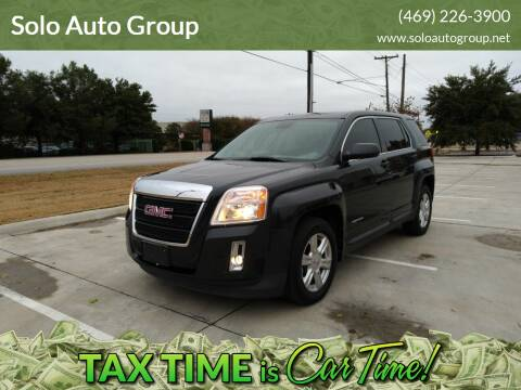 2014 GMC Terrain for sale at Solo Auto Group in Mckinney TX