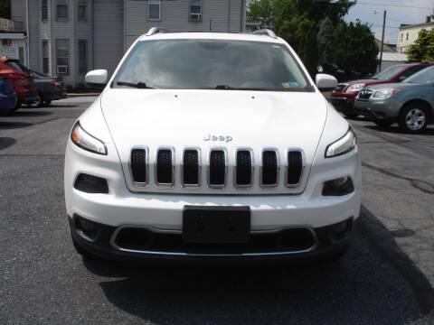 2016 Jeep Cherokee for sale at Pete's Bridge Street Motors in New Cumberland PA