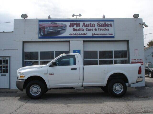 2011 RAM Ram Pickup 2500 for sale at JPH Auto Sales in Eastlake OH
