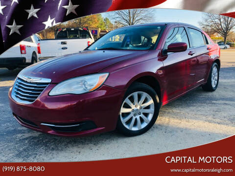 2011 Chrysler 200 for sale at Capital Motors in Raleigh NC