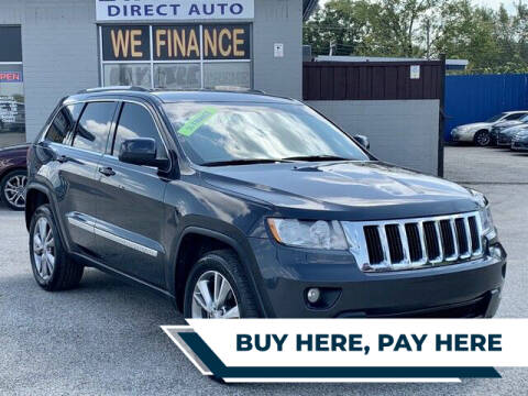 2013 Jeep Grand Cherokee for sale at Stanley Direct Auto in Mesquite TX
