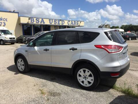 2015 Ford Escape for sale at BSA Used Cars in Pasadena TX