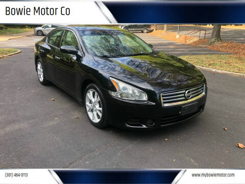2013 Nissan Maxima for sale at Bowie Motor Co in Bowie MD