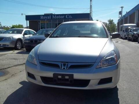 2007 Honda Accord for sale at Royal Motors - 33 S. Byrne Rd Lot in Toledo OH