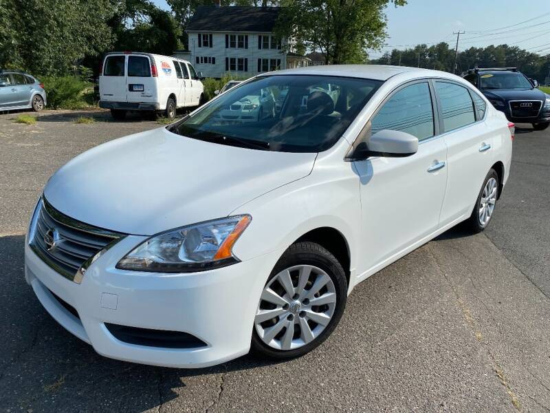 2014 Nissan Sentra for sale at East Windsor Auto in East Windsor CT