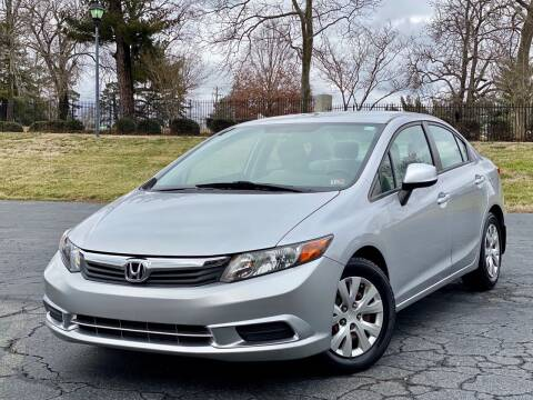 2012 Honda Civic for sale at Sebar Inc. in Greensboro NC