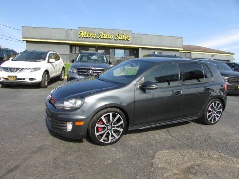 2014 Volkswagen GTI for sale at MIRA AUTO SALES in Cincinnati OH