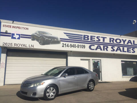 2011 Toyota Camry for sale at Best Royal Car Sales in Dallas TX
