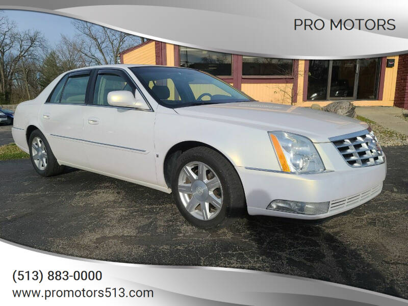 2007 Cadillac DTS for sale at Pro Motors in Fairfield OH