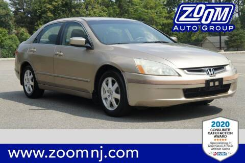 2005 Honda Accord for sale at Zoom Auto Group in Parsippany NJ