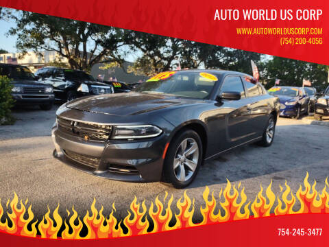 2017 Dodge Charger for sale at Auto World US Corp in Plantation FL