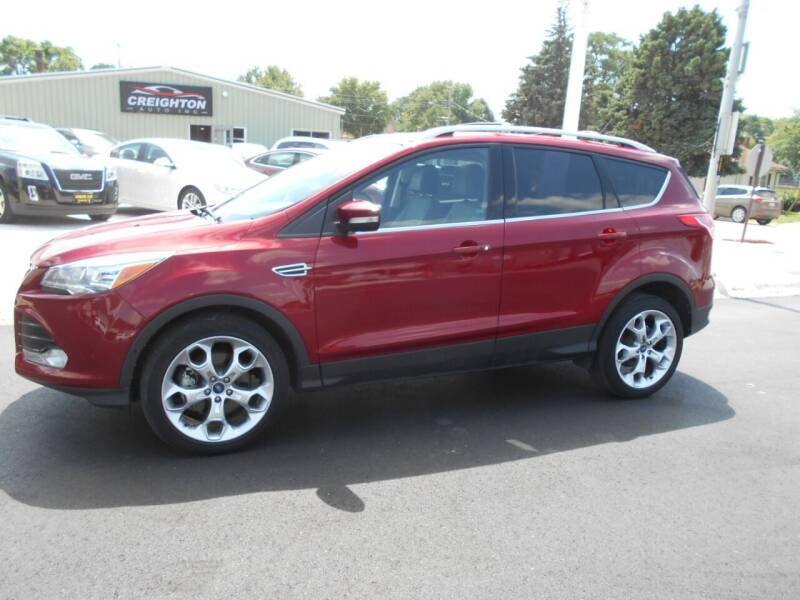 2014 Ford Escape for sale at Creighton Auto & Body Shop in Creighton NE