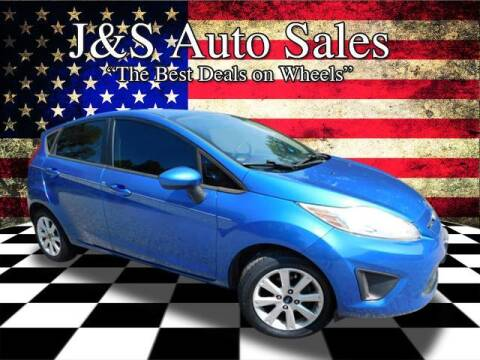 2011 Ford Fiesta for sale at J & S Auto Sales in Clarksville TN