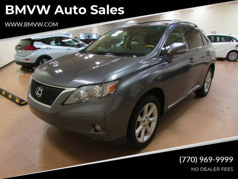 2012 Lexus RX 350 for sale at BMVW Auto Sales in Union City GA