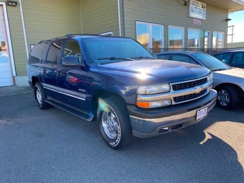2000 Chevrolet Suburban for sale at Aberdeen Auto Sales in Aberdeen WA