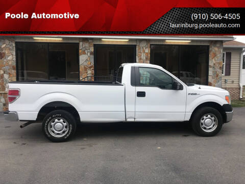 2013 Ford F-150 for sale at Poole Automotive in Laurinburg NC