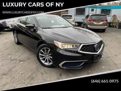 2018 Acura TLX for sale at LUXURY CARS OF NY in Queens NY