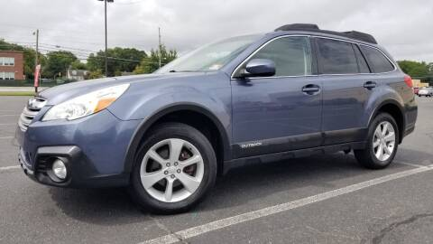 2013 Subaru Outback for sale at Ultimate Motors in Port Monmouth NJ
