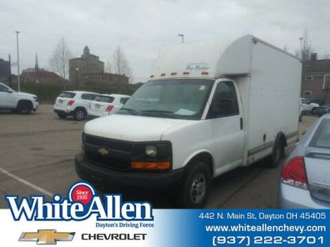 2014 Chevrolet Express Cutaway for sale at WHITE-ALLEN CHEVROLET in Dayton OH