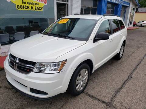 2018 Dodge Journey for sale at AutoMotion Sales in Franklin OH