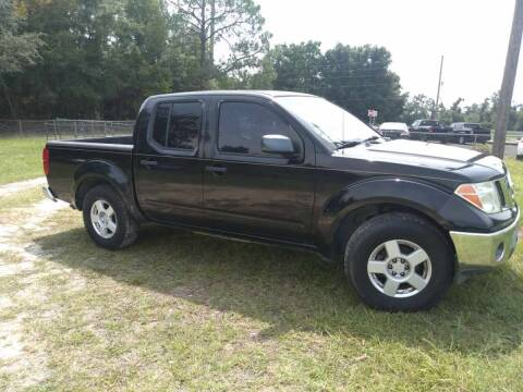 2005 Nissan Frontier for sale at Popular Imports Auto Sales in Gainesville FL