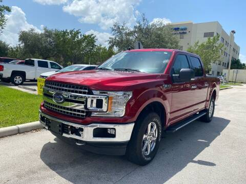2019 Ford F-150 for sale at Car Girl 101 in Oakland Park FL