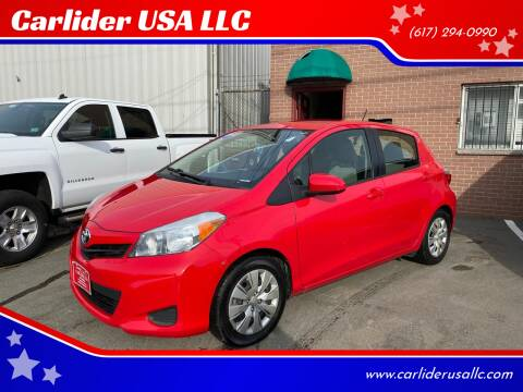 2013 Toyota Yaris for sale at Carlider USA in Everett MA