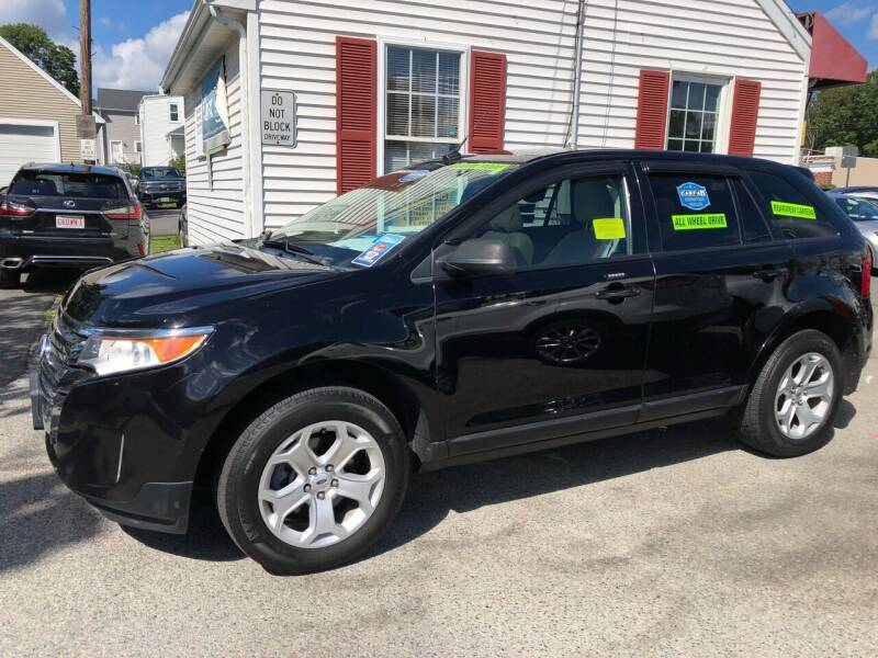 2012 Ford Edge for sale at Crown Auto Sales in Abington MA