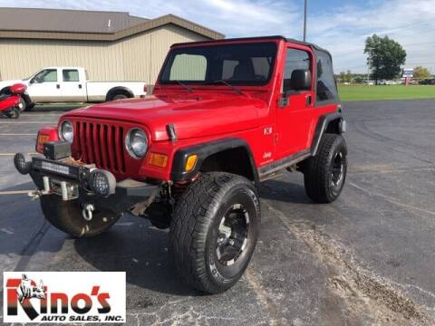 2003 Jeep Wrangler for sale at Rino's Auto Sales in Celina OH