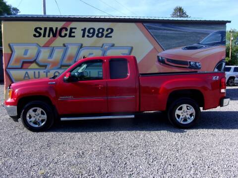 2013 GMC Sierra 1500 for sale at Pyles Auto Sales in Kittanning PA