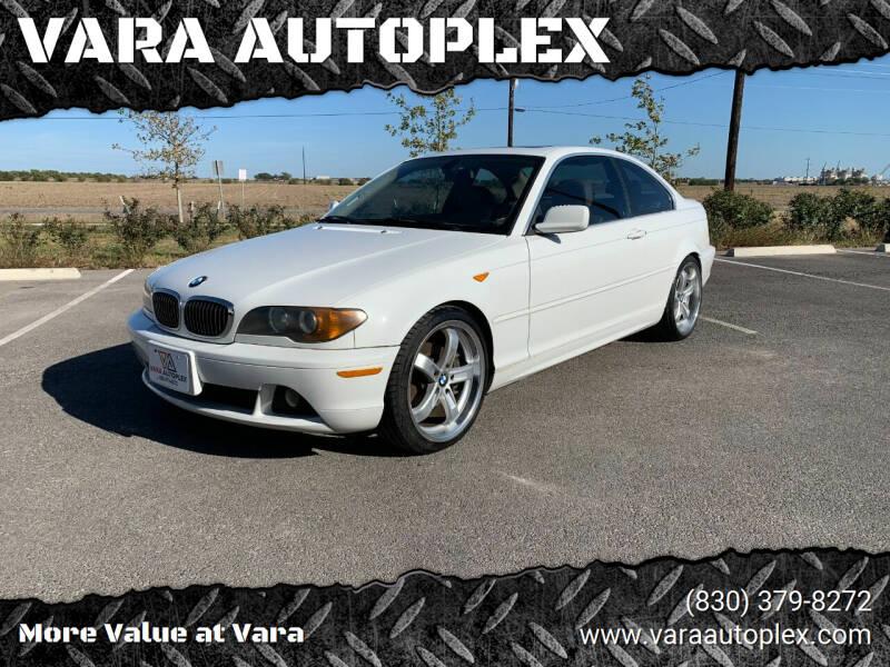 2004 BMW 3 Series for sale at VARA AUTOPLEX in Seguin TX