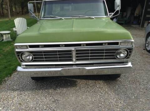 1973 Ford Ranger for sale at Classic Car Deals in Cadillac MI