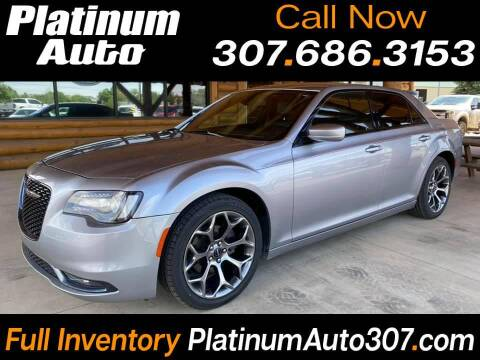 2018 Chrysler 300 for sale at Platinum Auto in Gillette WY