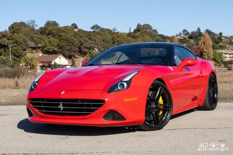 2016 Ferrari California T for sale at 415 Motorsports in San Rafael CA