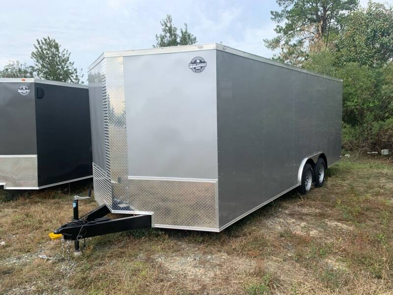 8.5x20 Tandem Axle  Enclosed Cargo Trailer  for sale at Direct Connect Cargo in Tifton GA