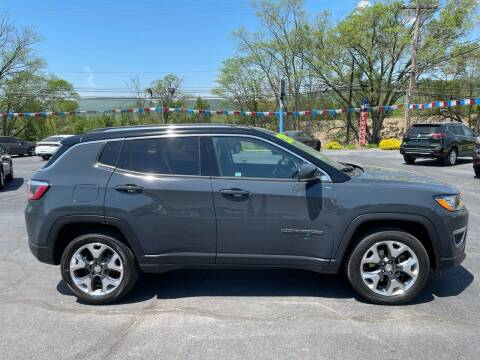 2018 Jeep Compass for sale at MAGNUM MOTORS in Reedsville PA