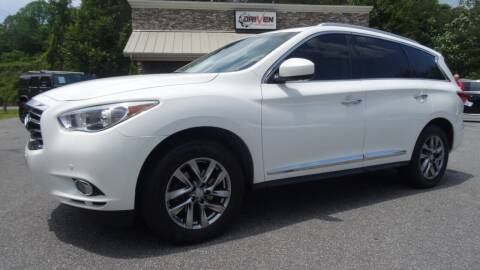 2013 Infiniti JX35 for sale at Driven Pre-Owned in Lenoir NC